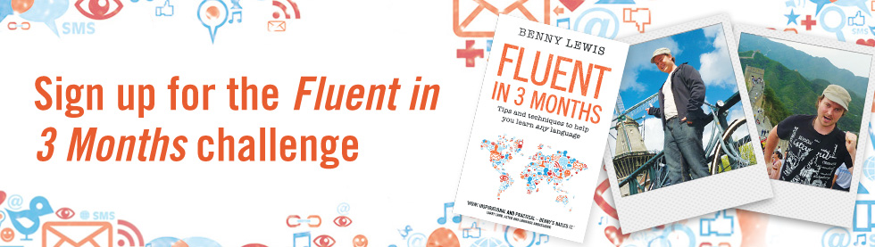 Sign up for the Fluent in 3 Months challenge